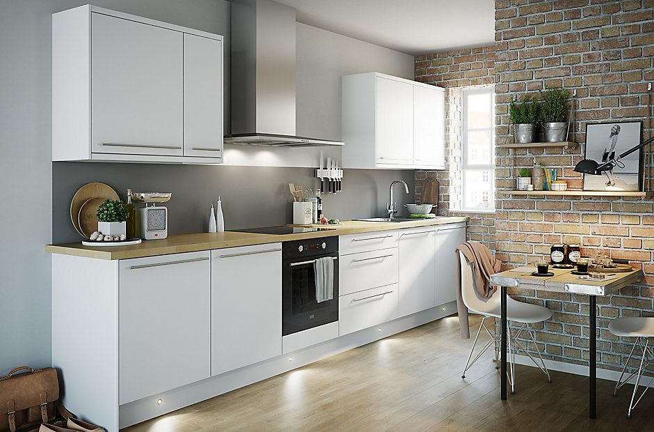 View our Sandford Ivory Slab Kitchen Range  high level of detailing  built  to the highest standard and up to a 10 year guarantee IT Sandford Ivory Style Slab   DIY at B Q   home improvement  . Ivory Kitchens Design Ideas. Home Design Ideas