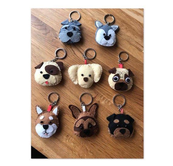German Shepard keyring/keychain! Handsown/handmade! Made personal to your pet #germanshepards