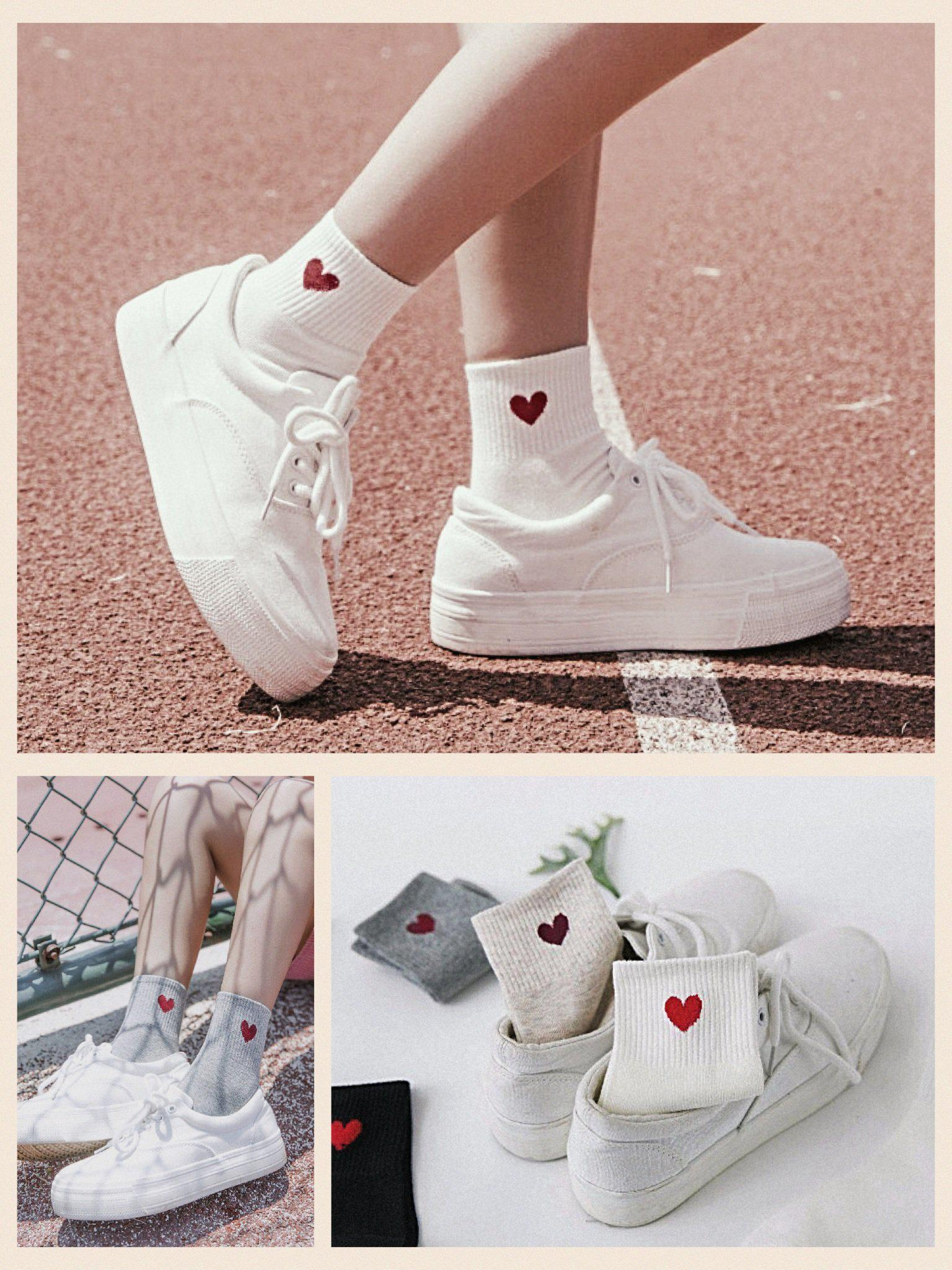 c54ca2dac63 Heart Socks in 2019