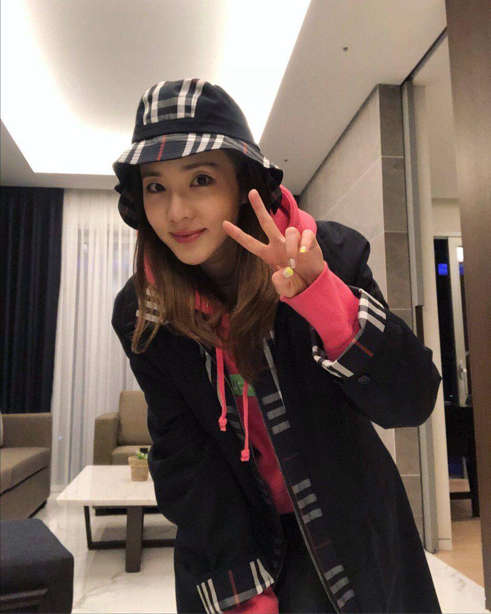 Cutie Dara ♥wearing   BURBERRY x  GOSHA Reconstructed Car Coat and Bucket  Hat fc40fe876f5