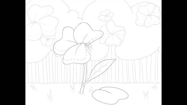 Stitch Garden Part one is completed! Beautiful animation done by luminousdream (here is her art blog) and I~.