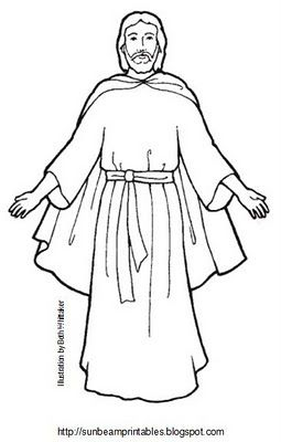 Sunbeam Printables: Craft Page for Lesson 5: Jesus Christ