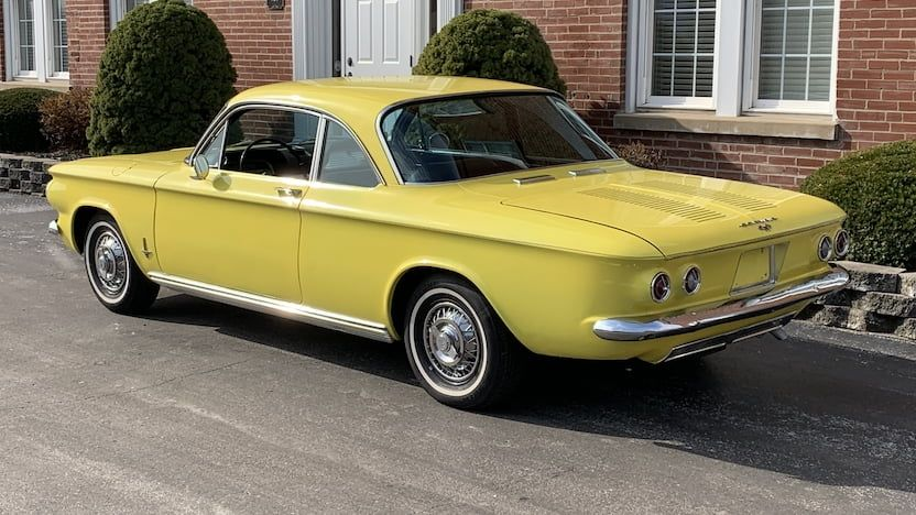 1963 Chevrolet Corvair Monza T50 Kansas City 2019 Chevrolet Corvair Chevrolet Chevy Corvair
