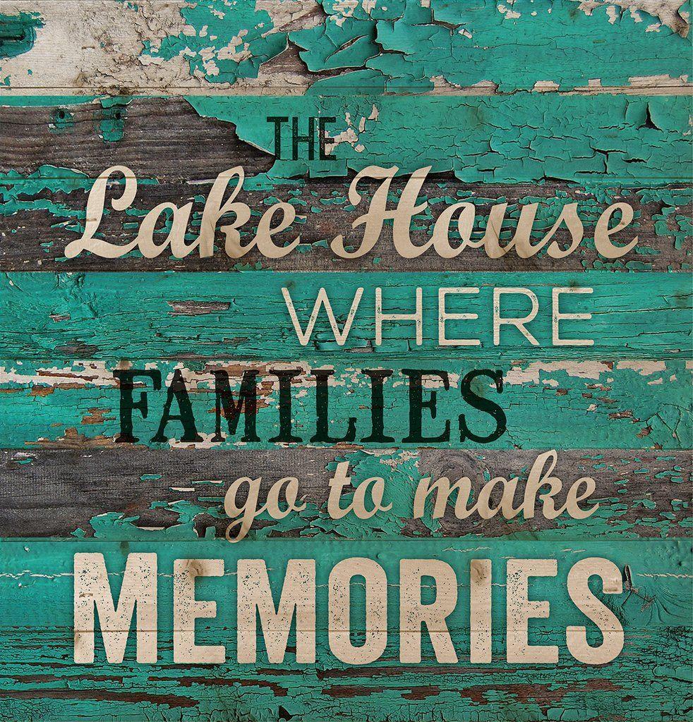 Rustic Lake House Decorating Ideas Rustic Lake House: The Lake House Wall Decor