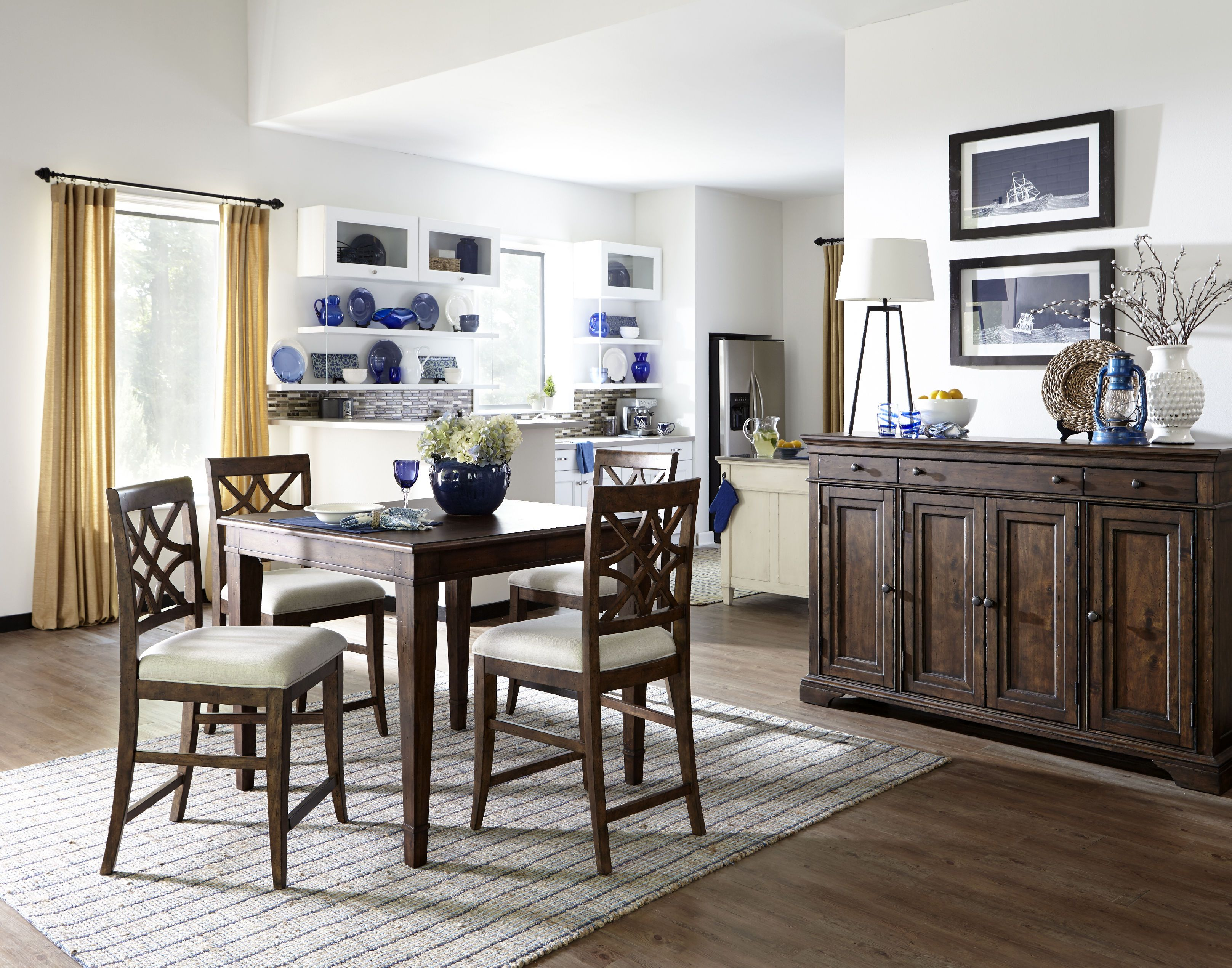 Trisha Yearwood Dining Room Nashville Counter Height Chair