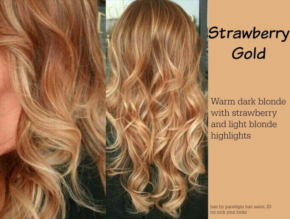 Strawberry Gold Strawberry Blonde Hair Color