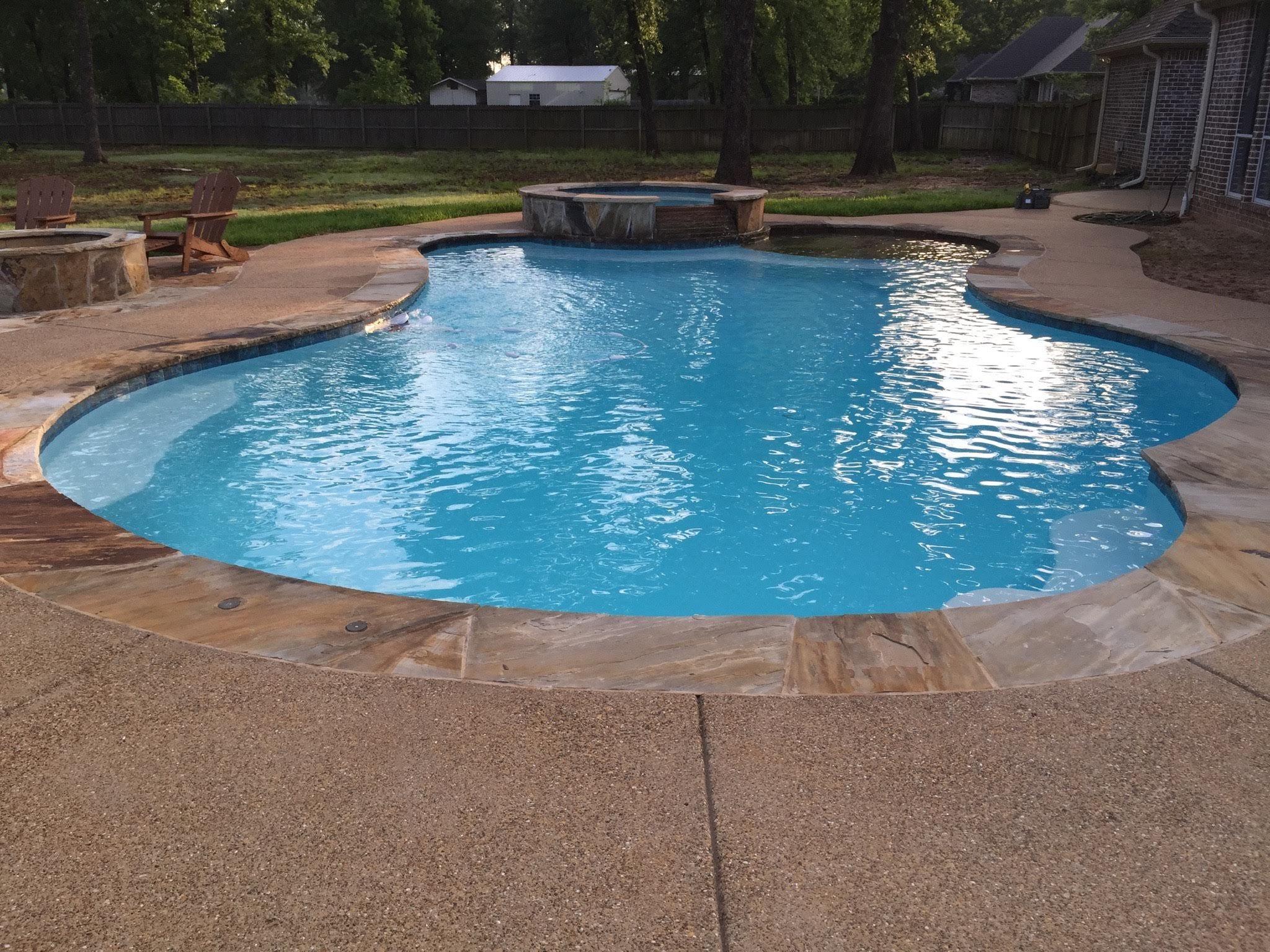 Inground Pools | Custom Pool Builder Tyler Texas | Gunite Pool  Construction, Above Ground Pool