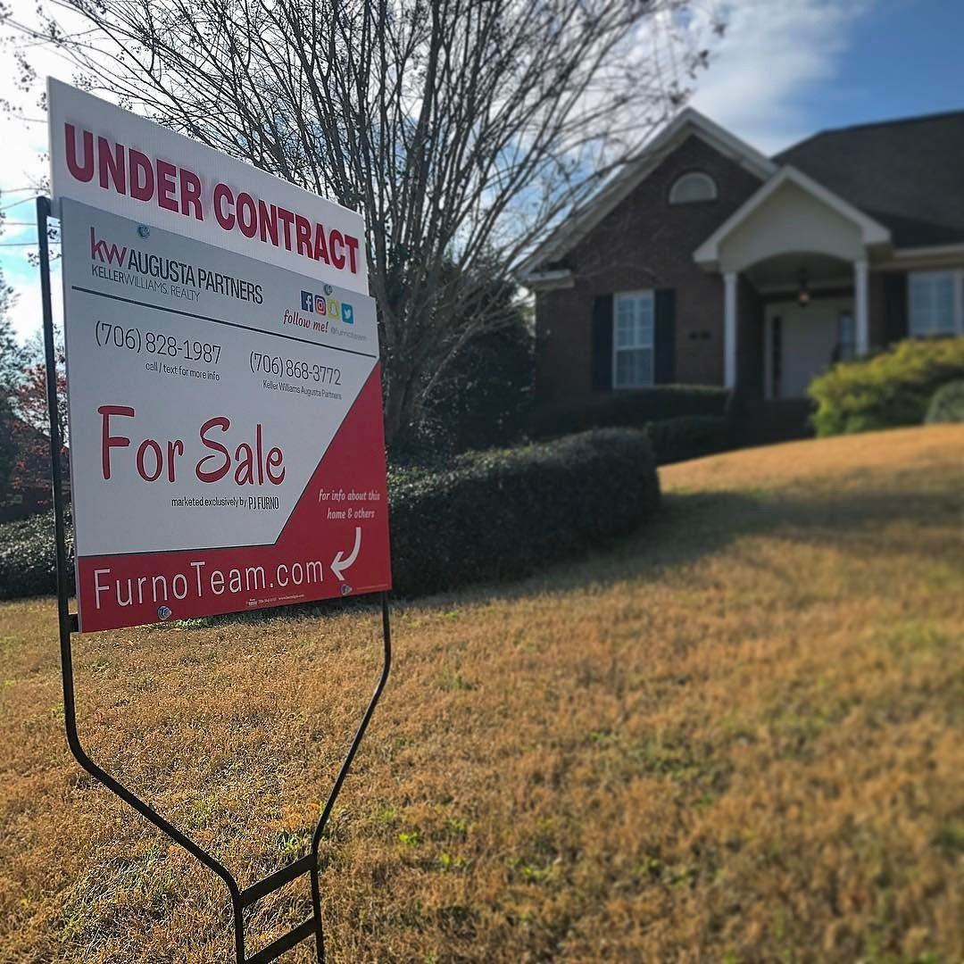 Under Contract. My favorite two words! Got my seller full