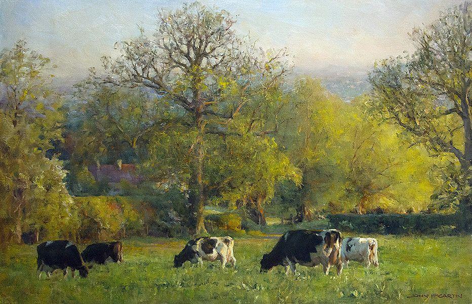 John Mccartin Australian Artist Bing Images Oil Painting Landscape Farm Paintings Art Painting