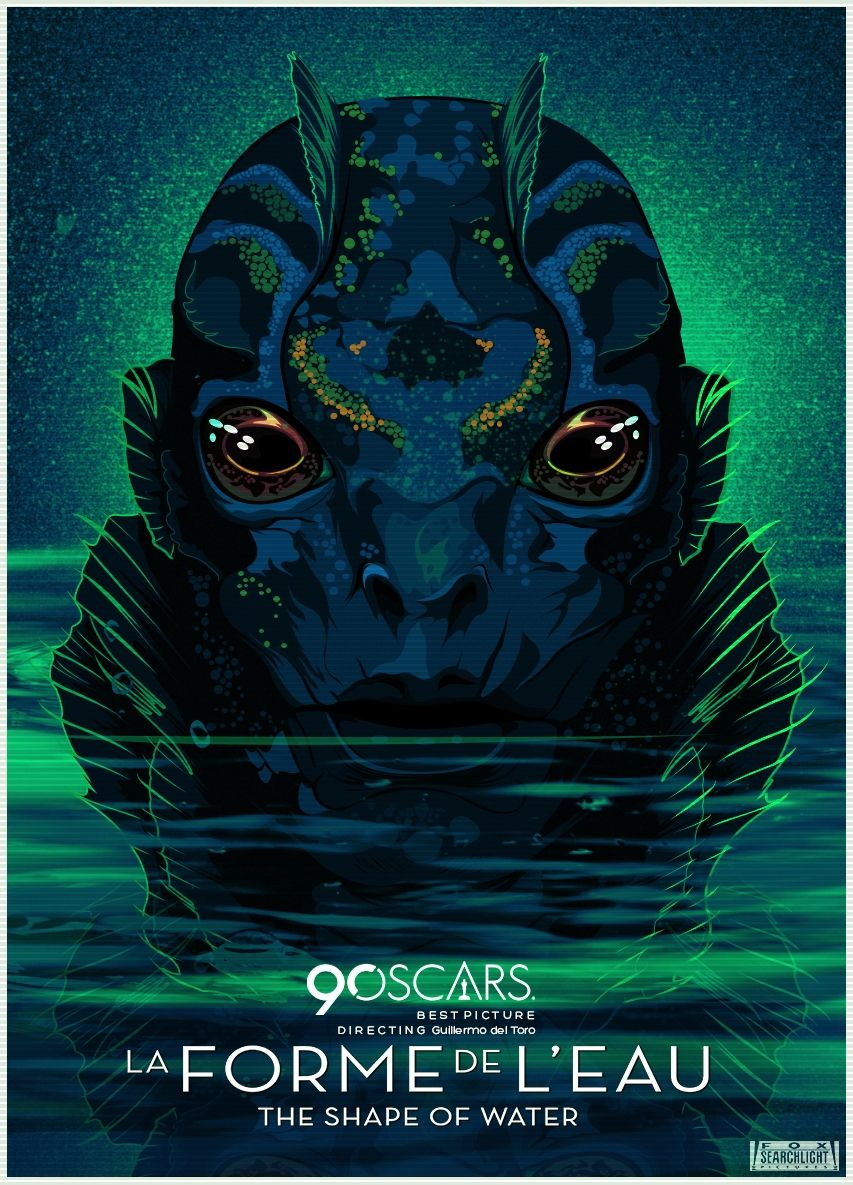 The Shape Of Water (2017) [853 x 1185]