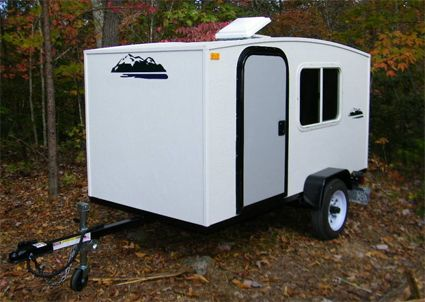 Camper Trailer Mini Camper Toy Hauler Wonadaygo 4 X 8 1 2 Person