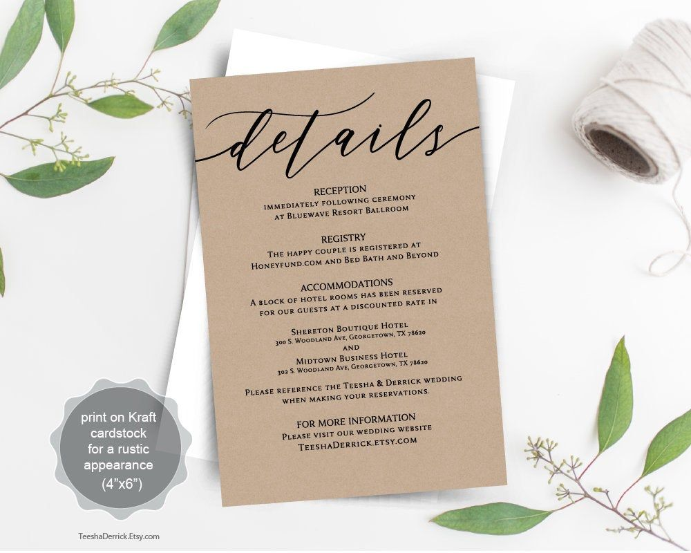 This Item Is Unavailable Etsy Wedding Direction Cards Wedding Details Card Wedding Directions