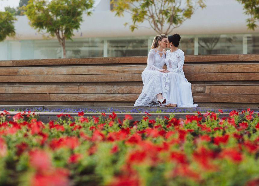 Ori & Shanis LGBTQ+ Tel Aviv Wedding | Mariage lesbien