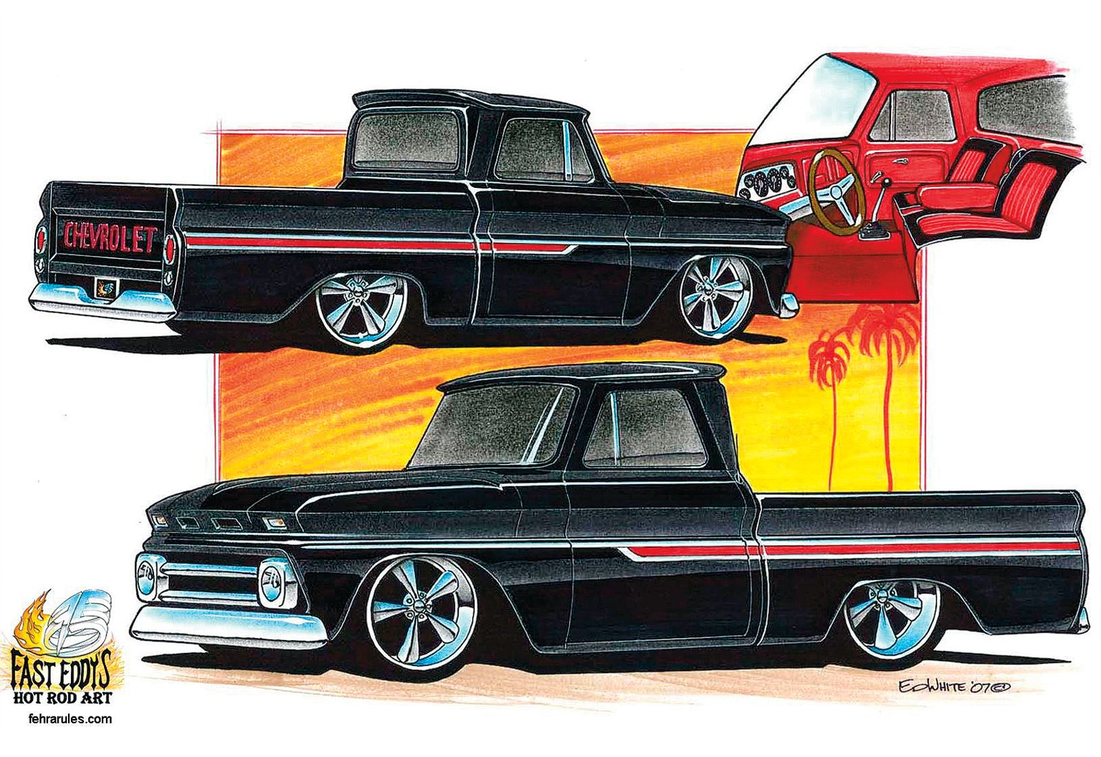 1965 chevy truck 1965 chevy c10 buildup rendering photo 1