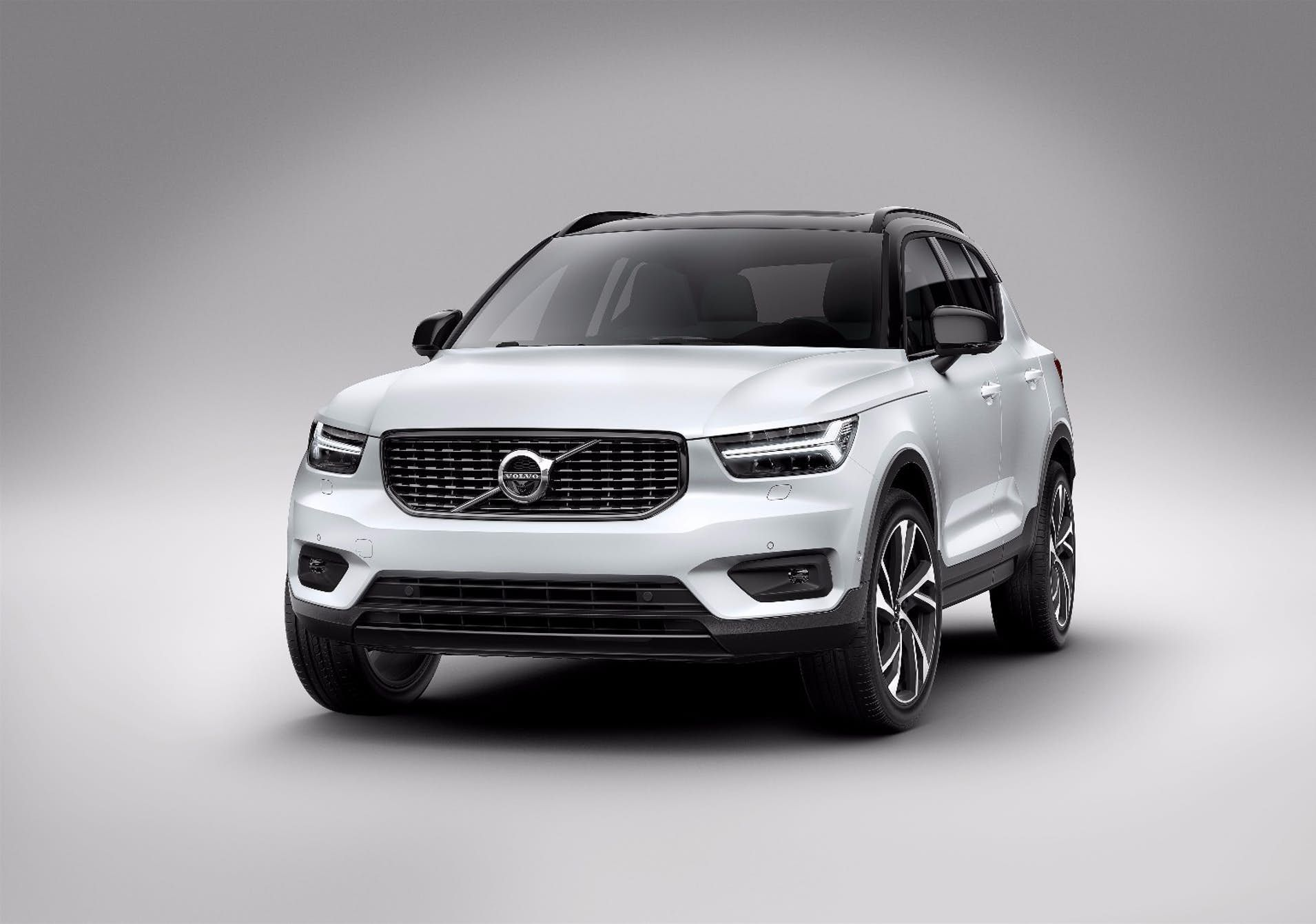 Chunky Little Xc40 Rounds Out Volvo Suv Stable Volvo Compact