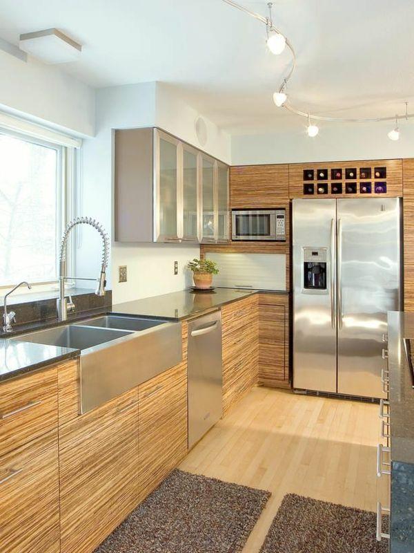 küchengestaltung küche einrichten küchenregale küchenideen Places