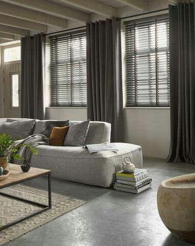 gordijnen slaapkamer inspiratie woonkamer pinterest