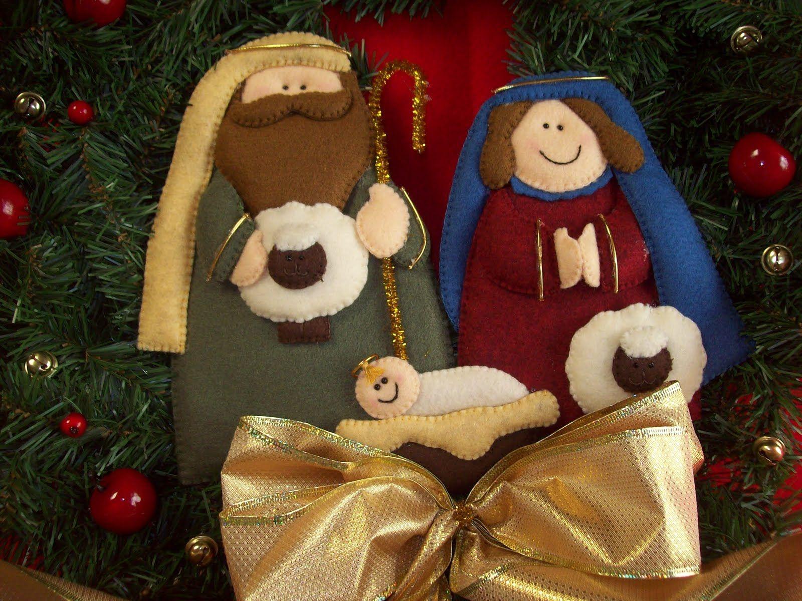 Shexeldetallitos Blog De Manualidades Presepe Pinterest Blog  ~ Manualidades De Fieltro De Navidad