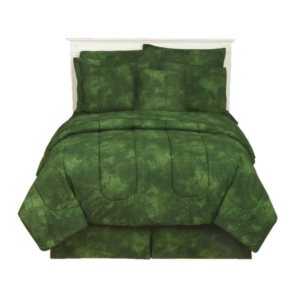 c9670c24acf1 forest green comforter | Bedspreads for mom in 2019 | Green ...