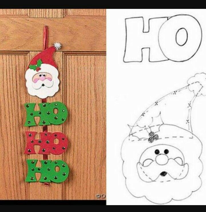 Colgante navidad navidad moldes para navidad - Manualidades navidad goma eva ...