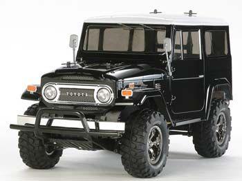 Tamiya 1/10 Toyota Land Cruiser 40 CC-01 Black Kit