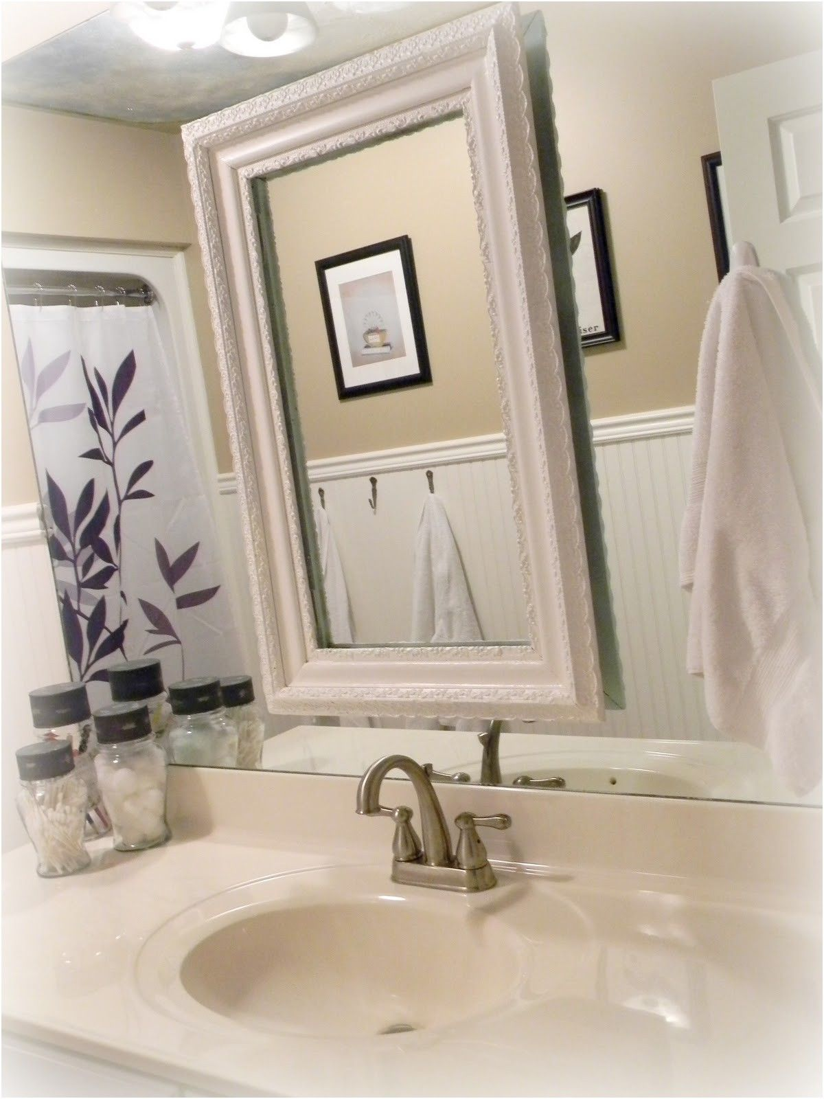 beautiful bathroom mirror decorating ideas photos house design from ...