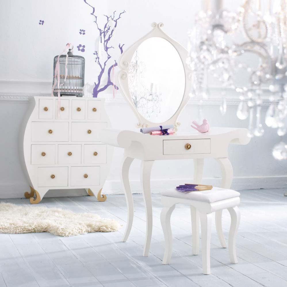 Adolescentes Coiffeuse Baroque Meuble Chambre Et Decoration Chambre