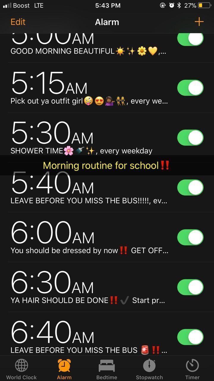Eu! Só que eu coloco a partir de 5h,5 em 5 minutos #schoolhacks
