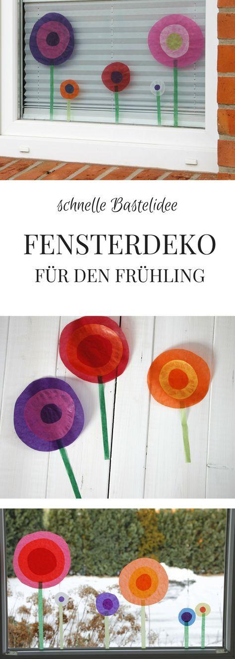 DIY-Idee: Frühlingshafte Fensterdeko und Ulalü Kindermode - Lavendelblog