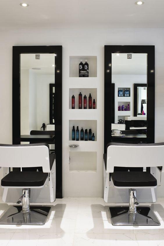 Inkfish Hair Salon by Absolute Interiors wwwabsolutedesigncouk