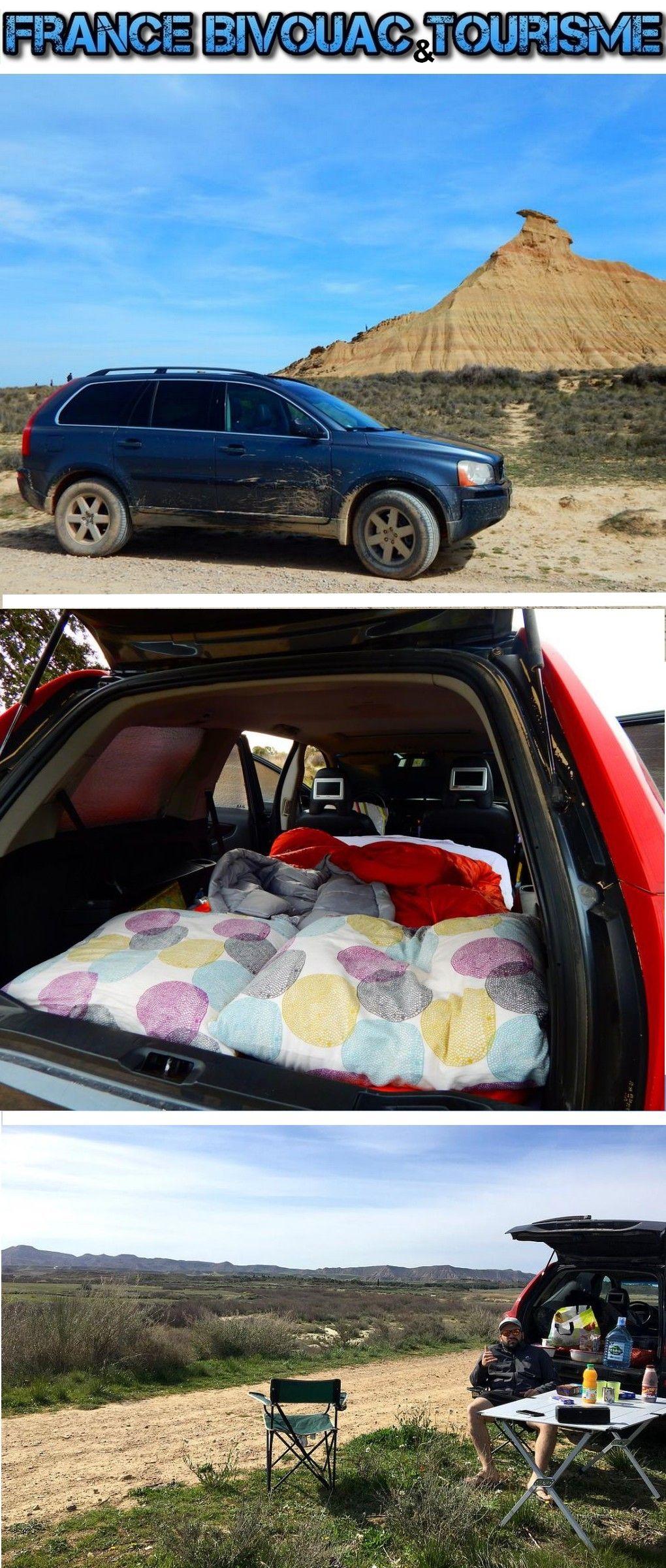 france bivouac et tourisme suv 4x4 volvo xc 90 en road trip dans le d sert du bardenas. Black Bedroom Furniture Sets. Home Design Ideas