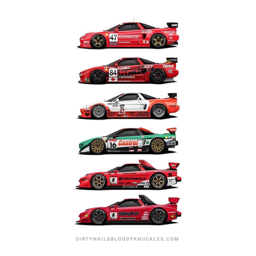 NSX Motorsport Legends Dirtynailsbloodyknuckles.com Link