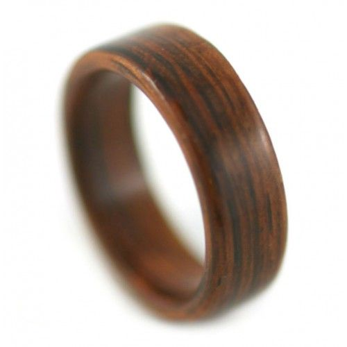 Solid Rosewood For Men Wooden Rings future Pinterest Ring