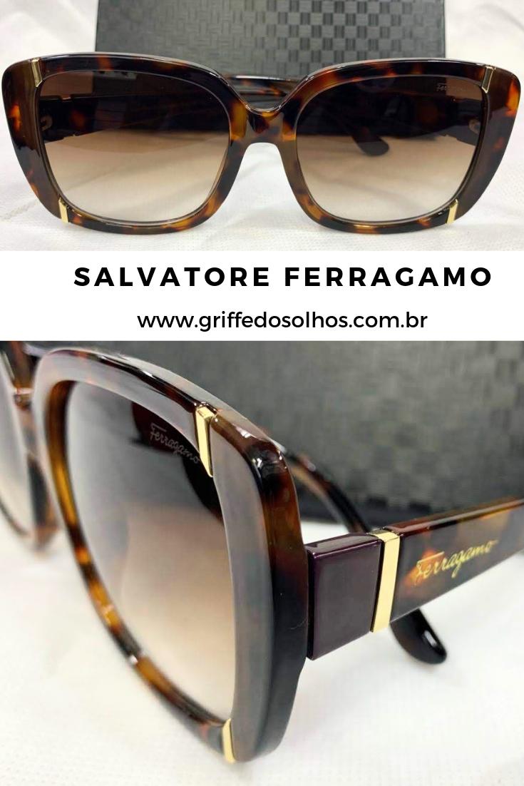 4541f1d86 SALVATORE FERRAGAMO - ÓCULOS DE SOL FEMININO QUADRADO #oculosferragamo  #salvatoreferragamo #oculosestiloso #oculos2019