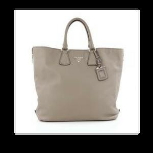 8efcb8e34fd3 Prada Side Zip Convertible Shopper  Tote Vitello Daino  Handbag ...