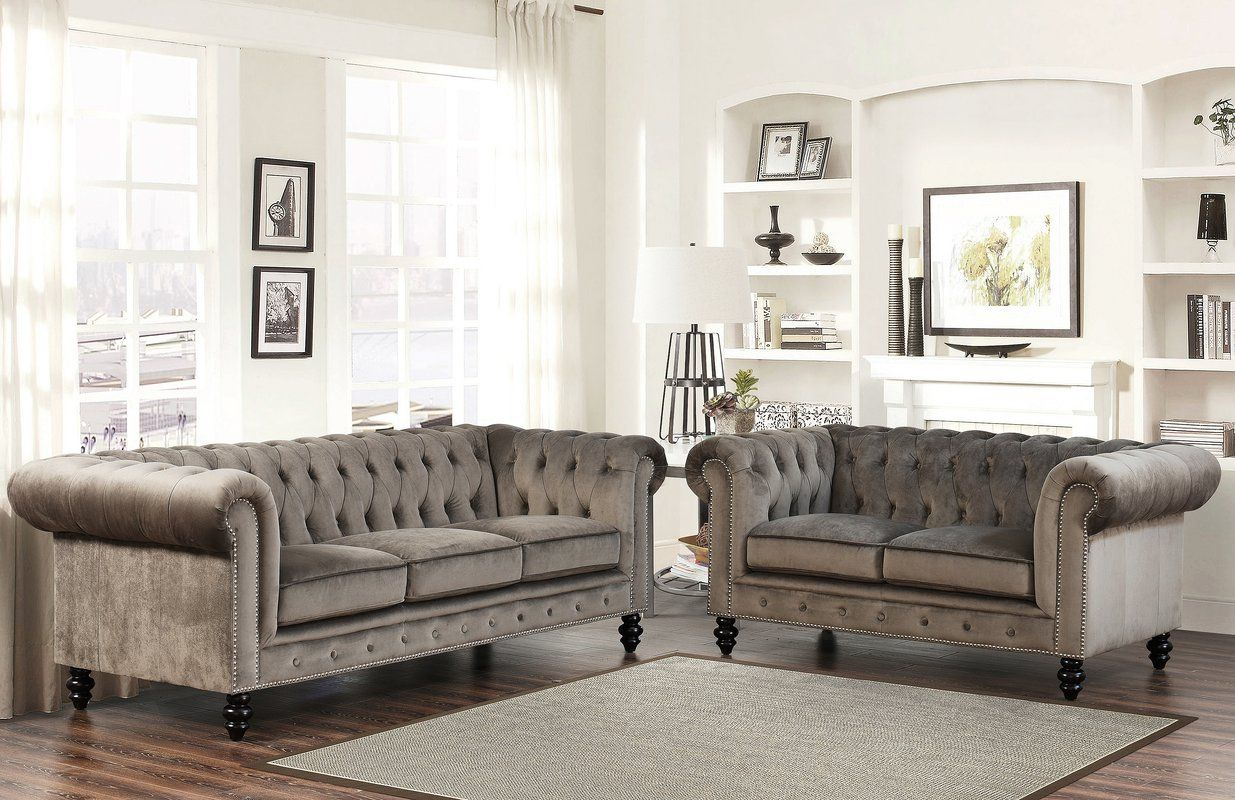 Kashvi Chesterfield Sofa | Chesterfield sofa, Chesterfield and ...
