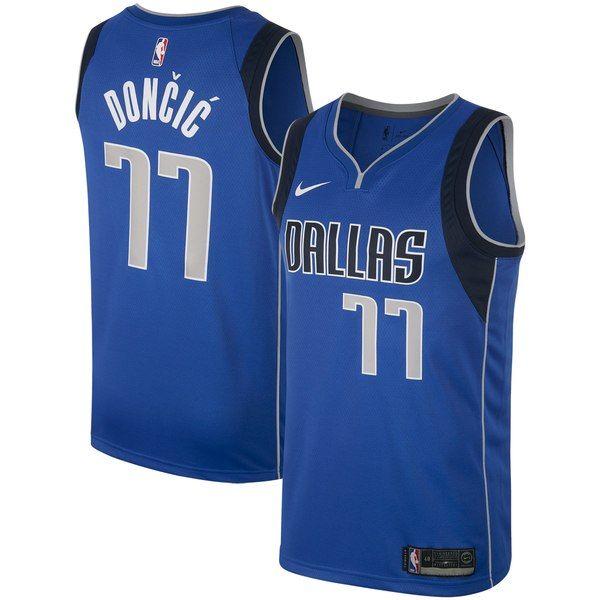 a7327d24022 Dallas Mavericks Luka Doncic Nike Men s Swingman Jersey - Royal   DallasMavericks