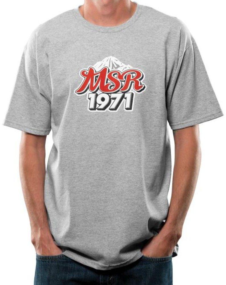 2015 MSR Lager Casual Apparel Mx Motocross Racing Short Sleeve T-Shirt