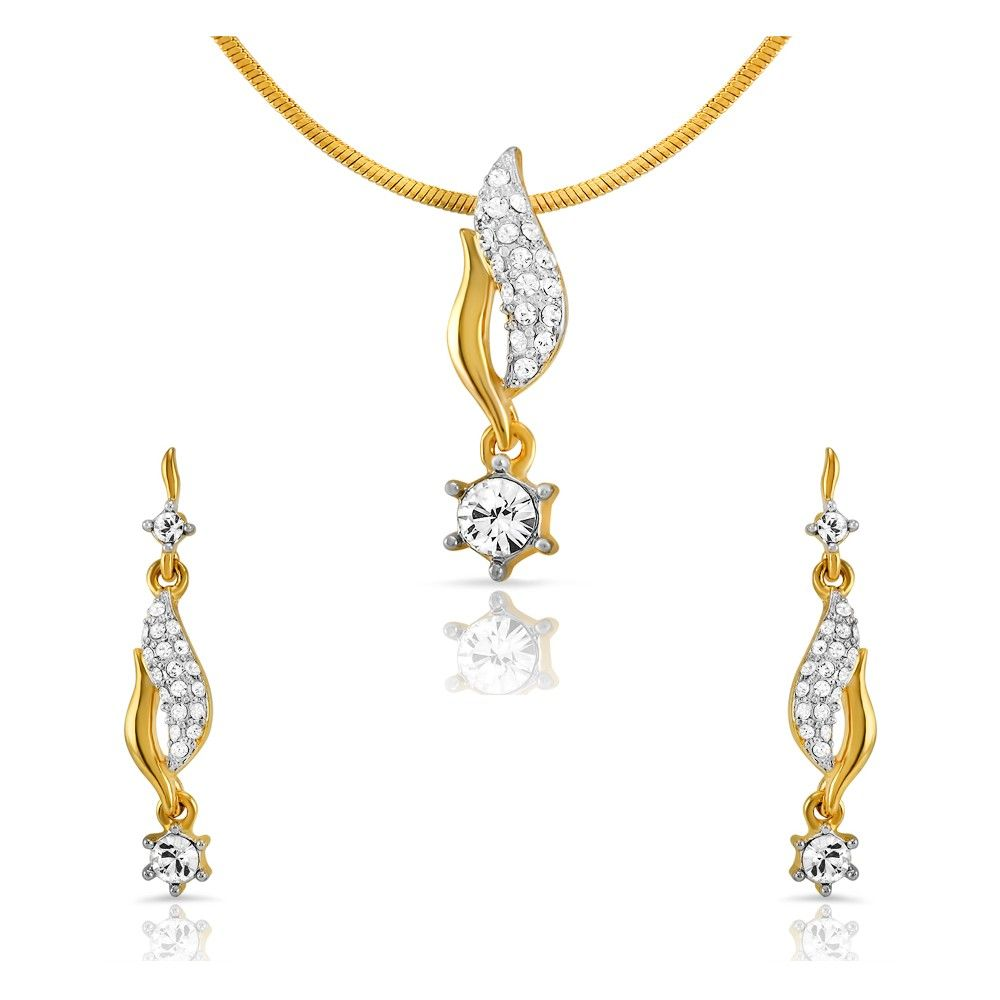 Mahi superstylish pendant set pendantset fashion jewellery