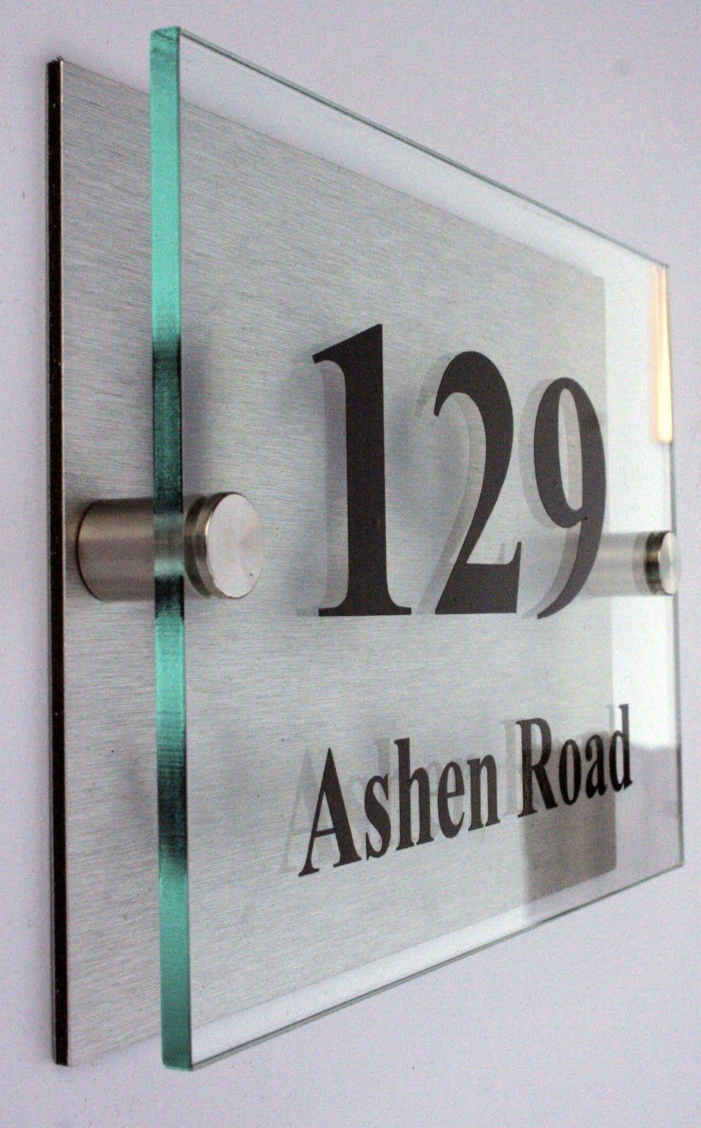 Signage Acrylic 看板 ボード, ナンバープレート, アクリルディスプレイ