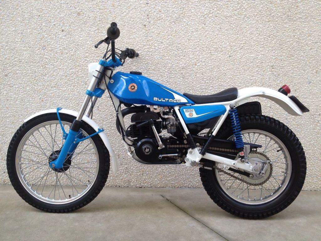 1982 Bultaco Sherpa T 350
