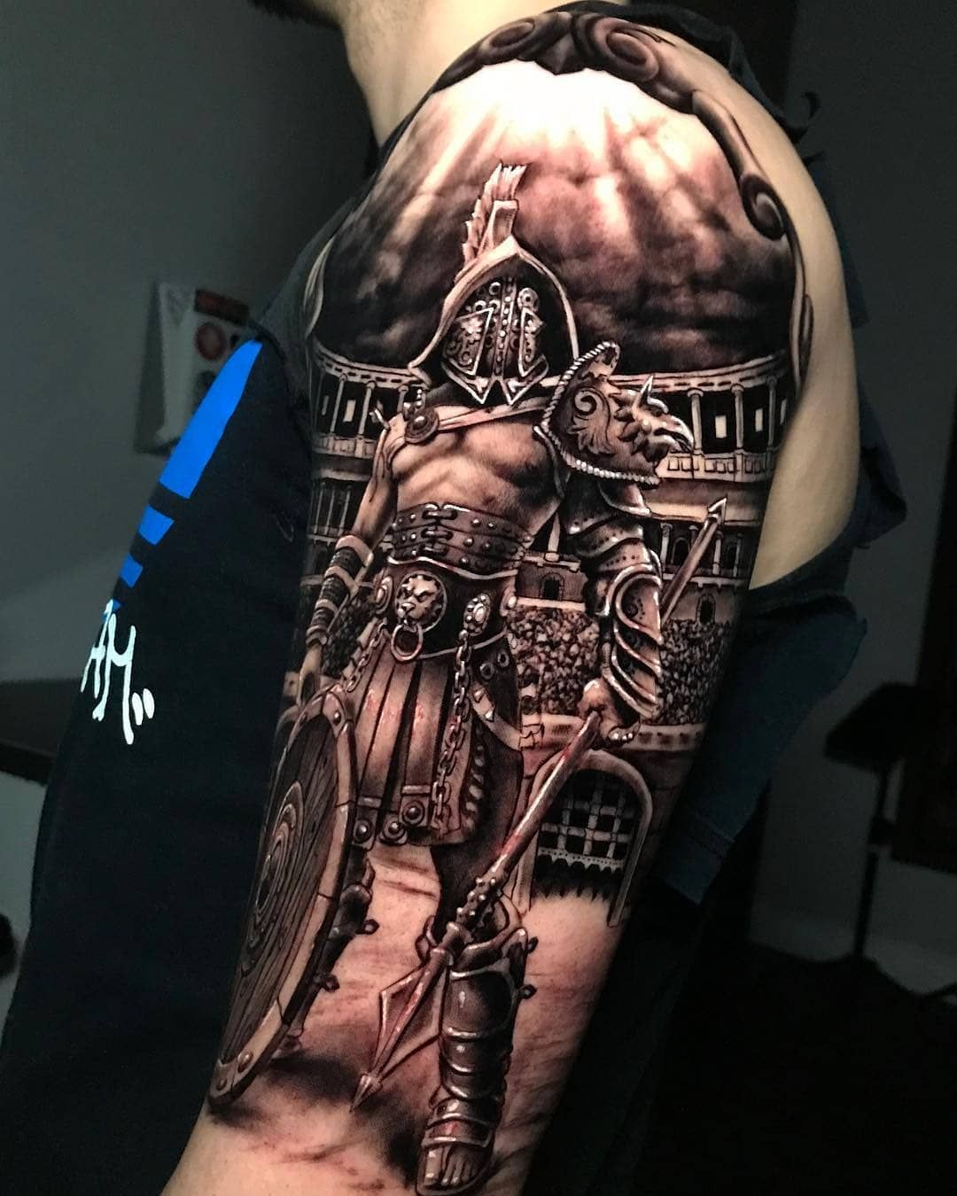 Pin by Ruda... on Tattoos in 2020 | Armor tattoo, Shoulder ...