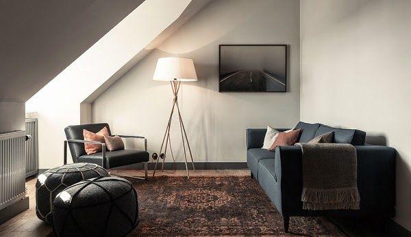 Wohnen unter der Dachschräge | Sweet Home | Dachboden