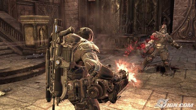 Gears Of War 3 Gameplay Gears Of War Jogos De Tiro Studios