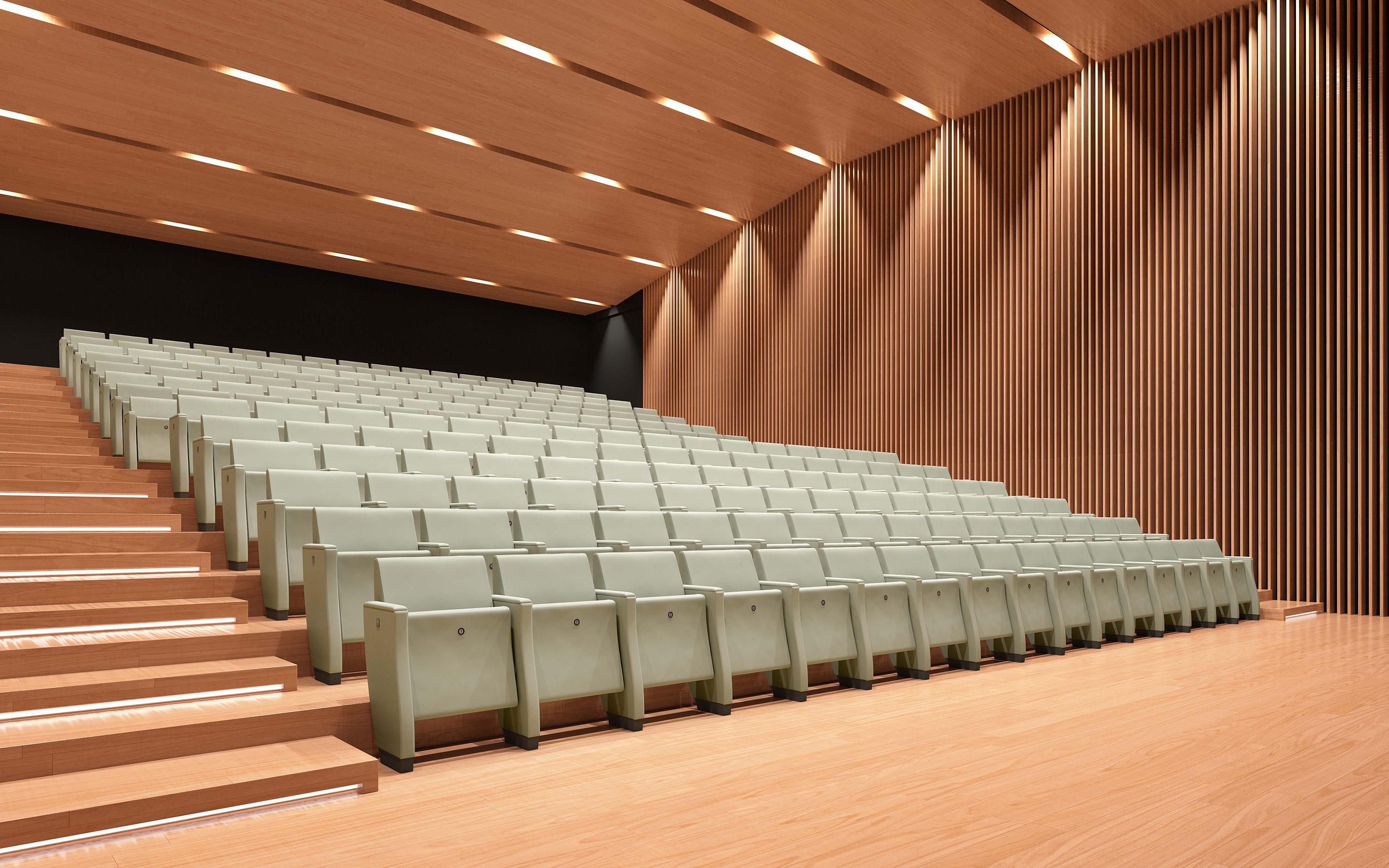 Prima Designer Auditorium Seating From Emmegi 사무실 계단