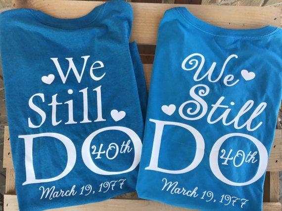 b90d3768 We still do, bundle shirts, Monogram tshirt, wedding tshirt, vow ...