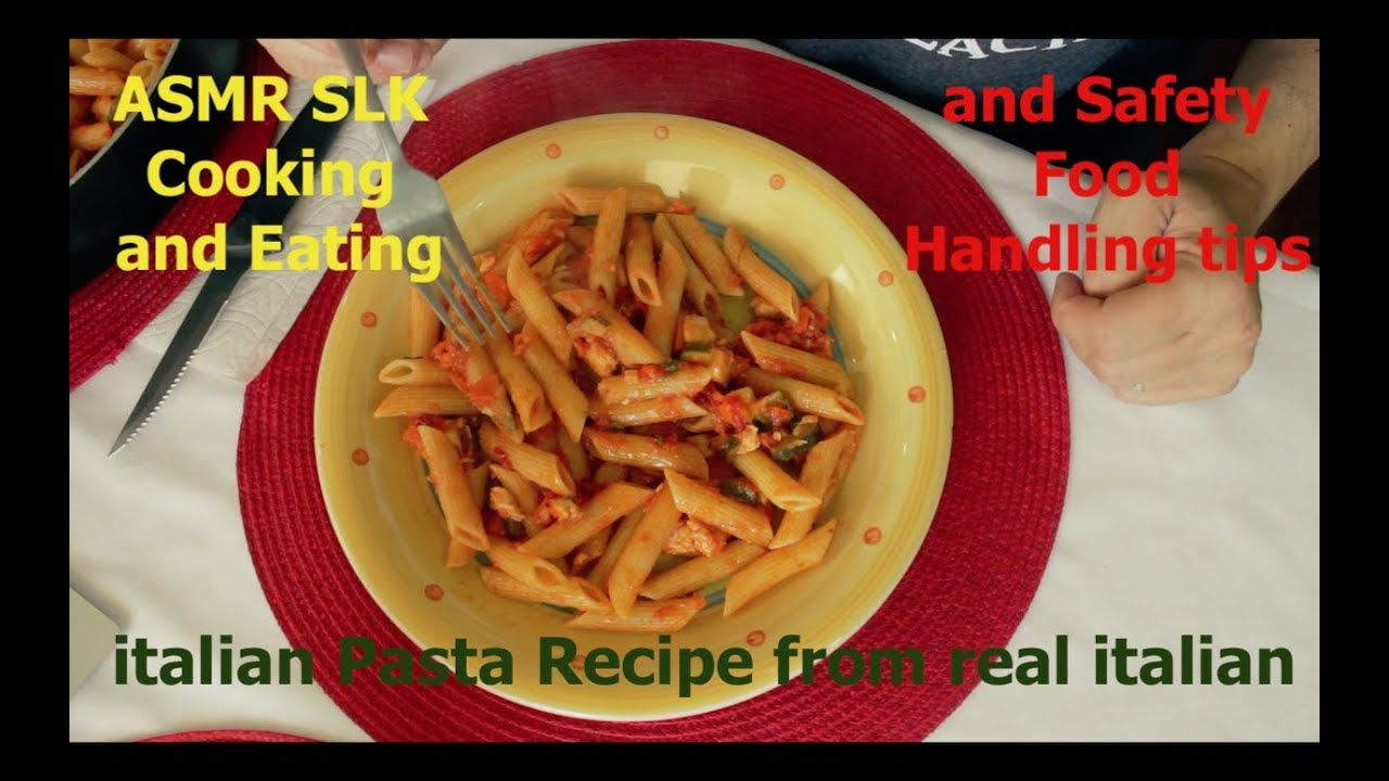 Asmr Slk Cooking And Eating Italian Pasta From Real Italian And Safety F Food Handling Food Italian Pasta At the moment, she has earned more than 4.4 million subscribers. pinterest