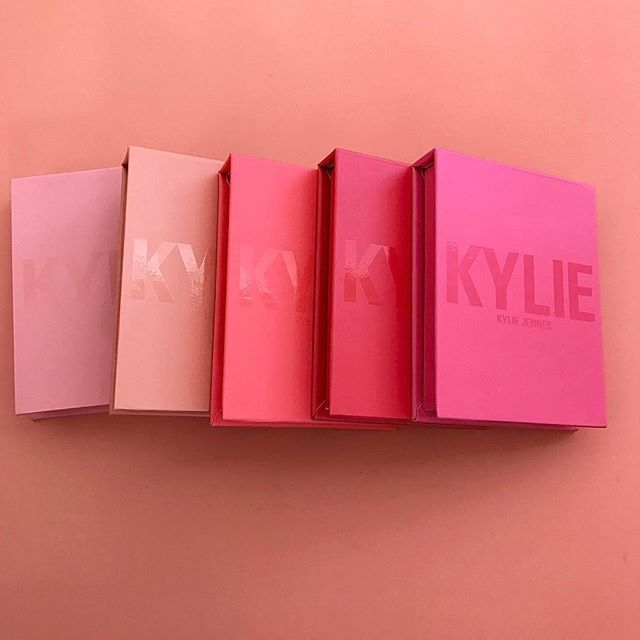 Kylie Cosmetics Announces Buildable Matte Blushes with pretty pink boxing | New Makeup Alert! | Celebrity Beauty