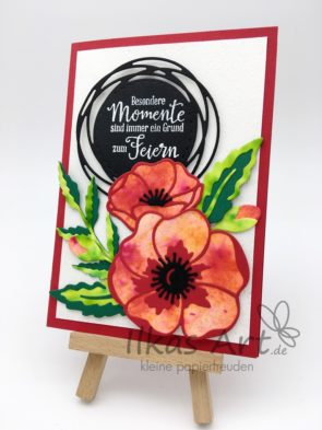 Pin By Mary Bauer On Peaceful Poppies Creative Cards Poppies Stampin Up