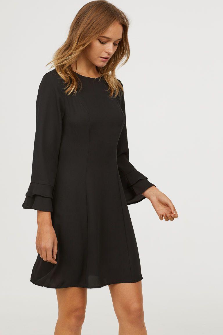 27+ Long sleeve black dress ideas
